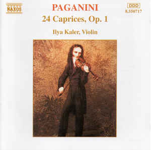Paganini - 24 Caprices, Op. 1 CD